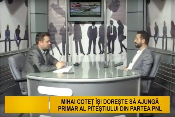 Mihai Cotet doreste ss ajunga primar al pitestiului