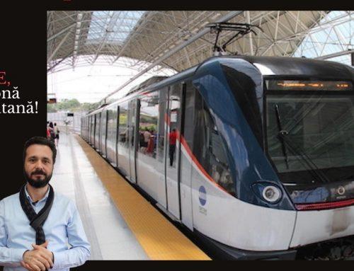 Cine are zonă metropolitană, face proiecte pentru transportul viitorului: trenuri de mare viteză și metrou!